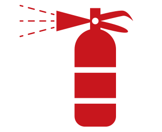 Fire Extinguisher Supply and Servicing icon